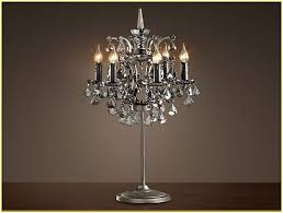 Small Table Lamp Black Small Crystal Chandelier Table Lamp Home Design Ideas