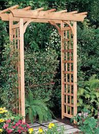 Panacea Trellis Trellis And Wood Planters Garland Nursery