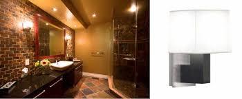 Modern Sconces Bathroom Modern Wall Sconces Enhance Bathroom Lighting