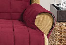 Waterproof Sofa Cover by Sure Fit Waterproof Furniture Cover Wing Chair Slipcovers