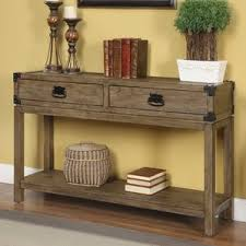 Unfinished Console Table Natural Unfinished Console Tables Birch Lane