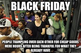 black friday target meme no black friday for me