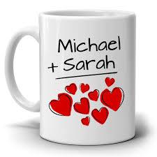 His And Her Mug Personalized Couples Wedding Anniversary Gift Mug I Love My