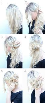 easy messy buns for shoulder length hair diy messy buns that only take minutes