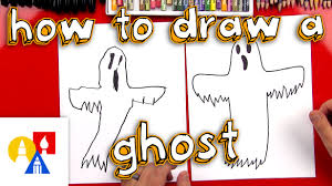 how to draw a ghost youtube