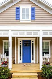 this lupine sw 6810 front door has us howling for color joy