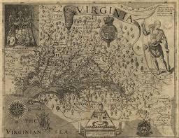 Virginia Map Virginia State Map Virginia State Road Map by Maps Captain John Smith Chesapeake National Historic Trail U S