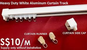 Plastic Curtain Tracks Singapore Curtain Rail Track Supplier 9610 4343