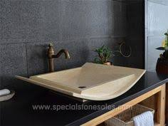Vanity Basins Brisbane Hand Chiseled Black Granite Stone Basins Pedestal Wash Basin