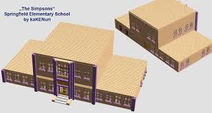 lego ideas simpsons springfield elementary