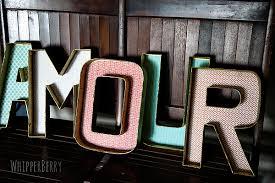 diy designer letters today u0027s creative life