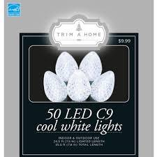 energy star led c9 lights led c9 light cool white energy star seasonal christmas lights