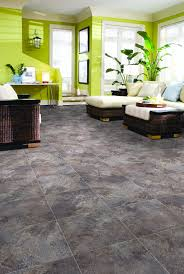 Slate Laminate Flooring Vesdura Vinyl Tile 3mm Pvc Glue Down Groutable Stone