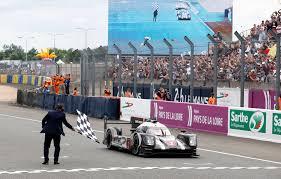 Checkered Flag Va Beach 2016 Le Mans No 2 Porsche 919 Hybrid Takes The Checkered Flag