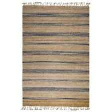 Indian Area Rug Jute Rizzy Home Indian Area Rugs Ebay