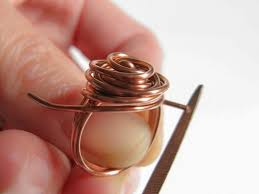 How To Make Jewelry Out Of Wire - diy wire rose ring tutorial diy projects pinterest ring