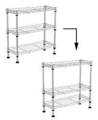 3 tier kitchen cabinet organizer amazon com seville classics 2 tier sliding basket kitchen cabinet