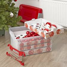 xl decorations storage box 60 ltr heavy duty plastic storage