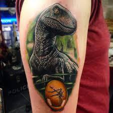 very fresh jurassic park raptor dinosaur piece by guy fletcher