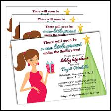christmas baby shower invitations itzuri u0027s shower pinterest