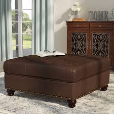 darby home co westview tufted ottoman u0026 reviews wayfair