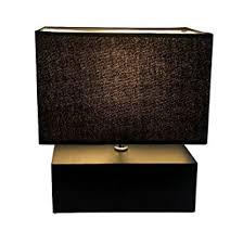 black rectangle l shade wooden table l rectangle wood box base bedside l with velvet