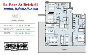 Axis Brickell Floor Plans Le Parc At Brickell Brickell Com