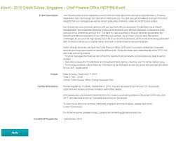 credit suisse cover letter 28 images top investment banking