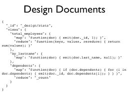 couchdb design document editor real world couchdb