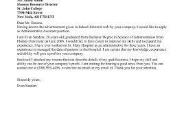 executive assistant cover letters cover letter best executive