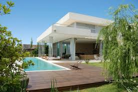 Cool Houses With Pools Deck From House Level Around Pool Could Do This To An Above