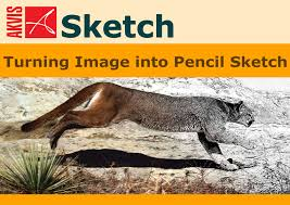 convert photos to pencil drawings with akvis sketch special
