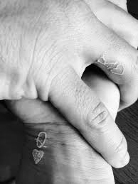 couple tattoo ideas to replace engagement rings u2013 glam radar