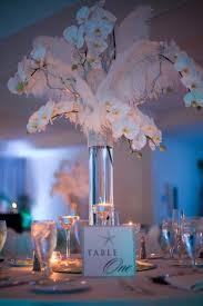 Wedding Feathers Centerpieces by The Naples Beach Hotel U0026 Golf Club Naples Fl Wedding Venue