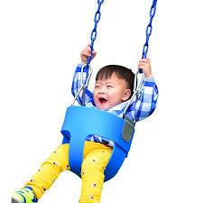baby swing swing set new fashion playground park children baby full bucket seat swing