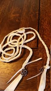 celtic handfasting cords cords ivory binding cords with celtic knot charms