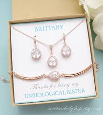 bridesmaid jewelry gifts personalized bridesmaid gift gold bridesmaid earrings