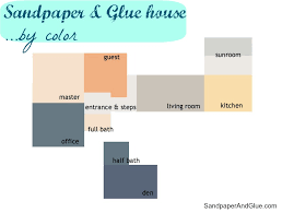 paint color house tour stephanie marchetti sandpaper u0026 glue a