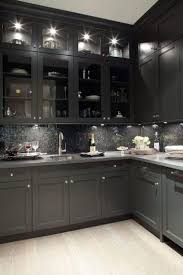 gray kitchen cabinets with black counter kitchen trend colors shaker kitchen cabinets dark lovely black and