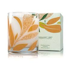 thymes candles thymes bergamot vert candle