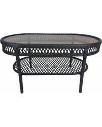 wicker end tables sale new savings on oakland living corporation merit brown resin wicker