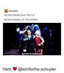 Never Gonna Give You Up Meme - bnwydse never gonna give you up never gonna let you down zin never