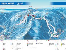 The 606 Map Trail Map Kanin U2013 Sella Nevea Bovec