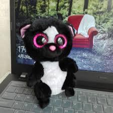 whosesale price 2016 flora skunks 18pcs 15cm ty beanie boos plush