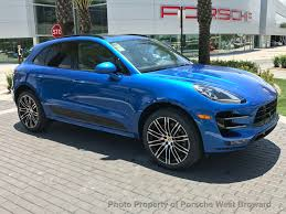 porsche macan 2017 new porsche macan turbo awd at porsche west broward serving