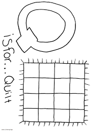 Letter Q Coloring Page Zimeon For Letter Q Coloring Page 10957 Coloring Pages Q