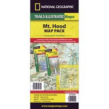 Oregon Trail Maps by 820 Mount Hood Mount Hood And Willamette National Forests Trail
