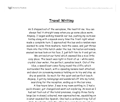 travel writing images Travel writing ibiza a level geography marked by png