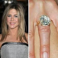 aniston wedding ring madonna s 3 vintage style engagement ring from now ex