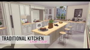 kitchen and dining furniture sims 4 room build traditional kitchen and dining youtube